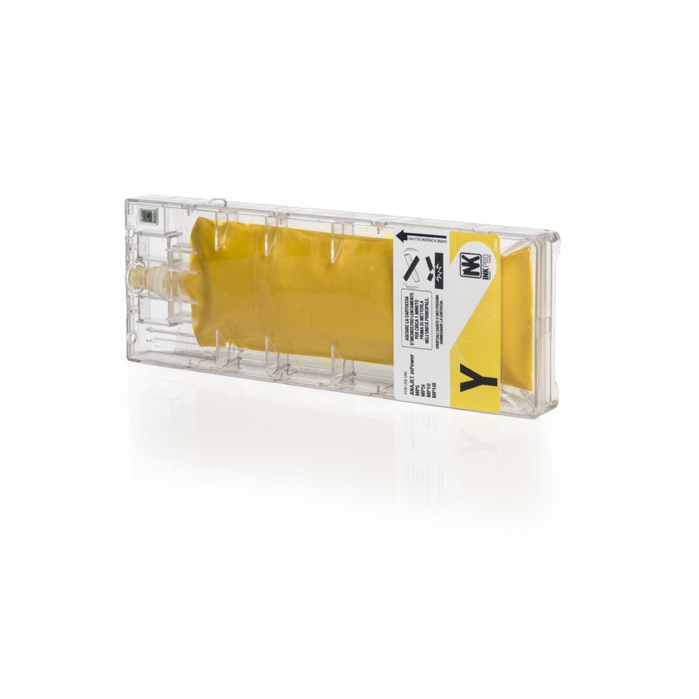 Cartucce Compatibili rigenerate DTG ANAJET MPower MP10 MP10i 240ml Giallo + Chip