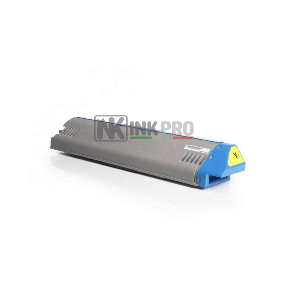 Toner Compatibile OKI C911colore GIALLO 24.000 pagine OEM 45536414