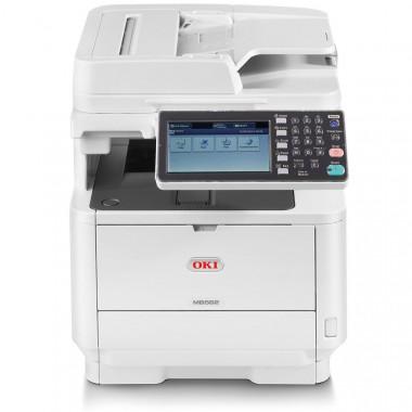 OKI MB562DNW Stampante Laser Multifunzione + 2 Toner da 12.000 copie + Assistenza 3 Anni