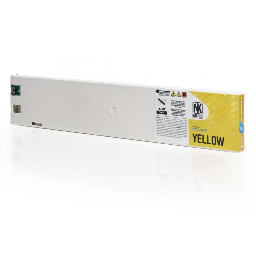 Cartucce EcoSolMax Roland VersaArt SC-545EX ecosolvente 440 ml GIALLO