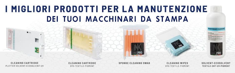 prodotti per pulizia stampanti