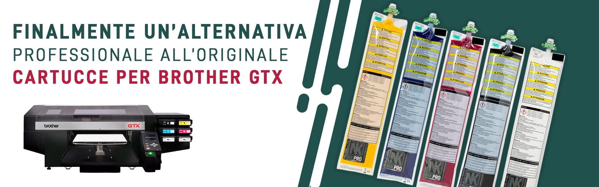 cartucce per stampante brother gtx